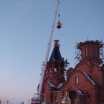 Услуги автокрана в Новосибирске