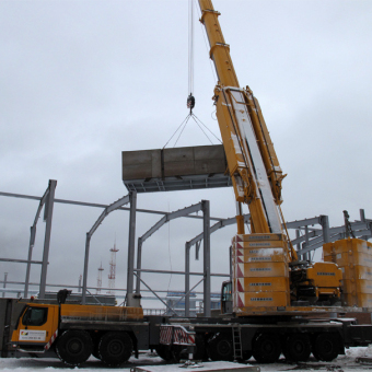 Заказ автокрана 400 тонн