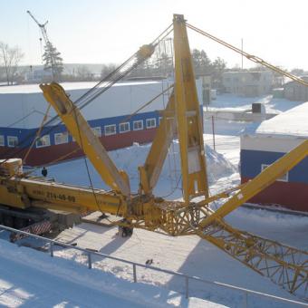 400 тонный автокран Liebherr
