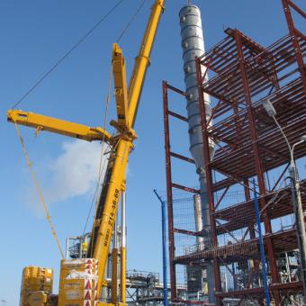 Услуги автокрана г/п 400 тонн теперь доступны в Новосибирске