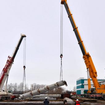 Грузоподъемные работы - автокраны 160 и 400 тонн