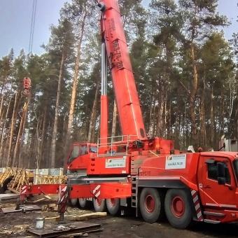 Аренда крана 300 тонн