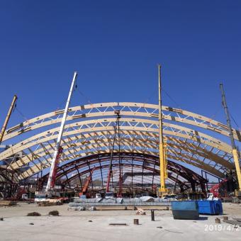 Строительство Центра по хоккею с мячом и конькобежным видам спорта