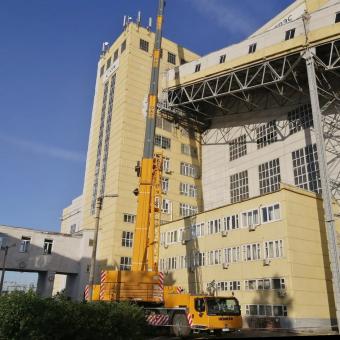 Ремонтные работы на Назаровской ГРЭС