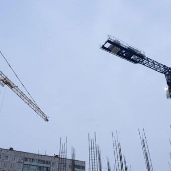 Монтаж башенного крана Comansa 21CJ290 12t