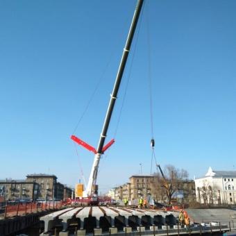Автокран грузоподъемностью 400 тонн